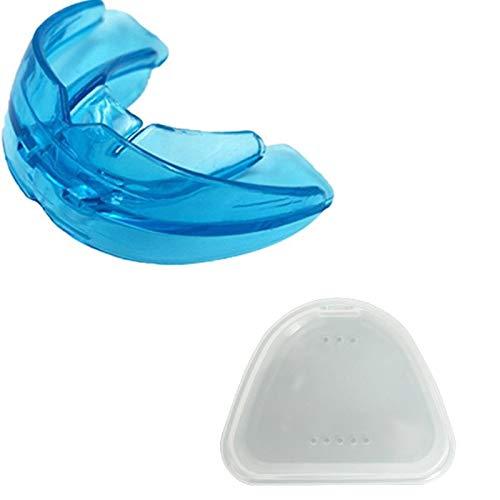 Dosige Aufbissschiene, 2 Pack Zahnschiene Gegen Zähneknirschen, Knirscherschiene Beißschiene, Zähne Knirschen Zahnschutz Beissschiene für Nacht Zahnspangen