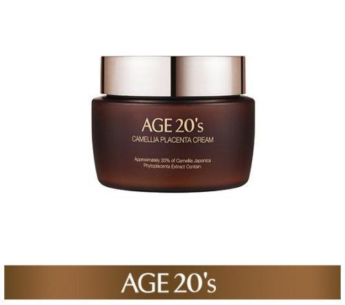 Age 20's Camella Placenta Cream 100G Korean Cosmetic Anti-Wrinkle Whitening