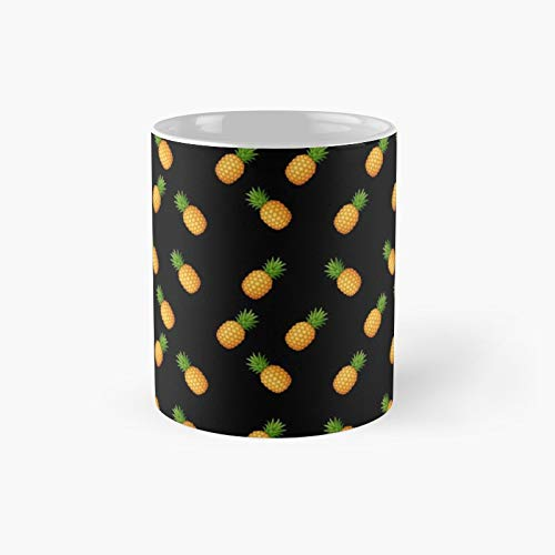 Pineapple Classic Mug - Unique Gift Ideas For Her From Daughter Or Son Cool Novelty Cups 11 Oz.
