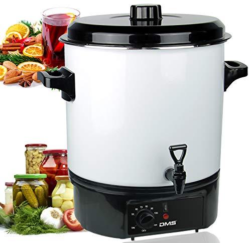 DMS® 27L Einkochautomat Einkochtopf Glühweintopf Heißgetränkeautomat Einkocher