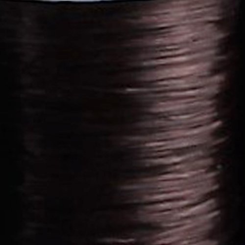 Doctored Locks Elastic Matrix Hair Extension Stretchy Thread for Braiding and Weaving 65m - Brown