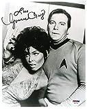 Yvonne Craig Coa Autograph 8x10 Star Trek Photo Hand Signed - PSA/DNA Certified