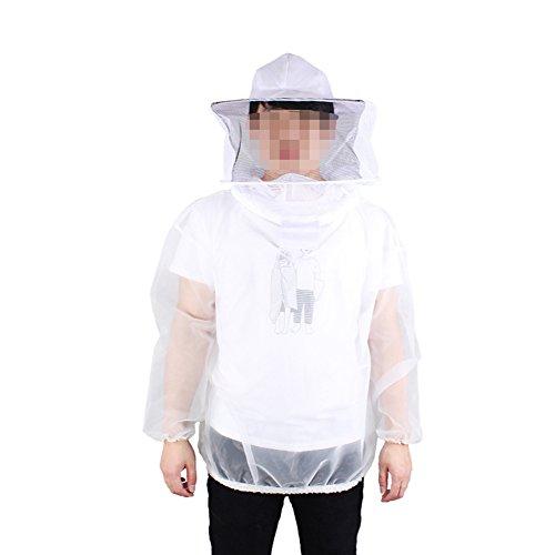 Farm & Ranch Veste d'apiculture respirante avec chapeau pour apiculteur