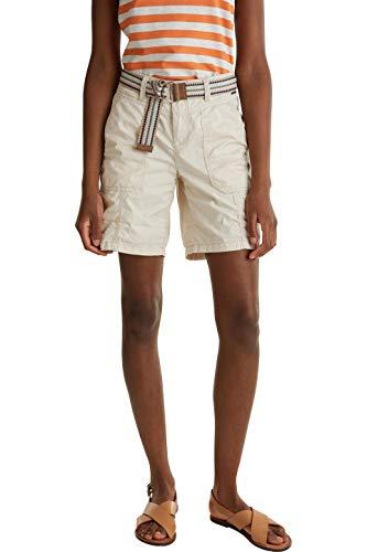 ESPRIT Damen 040EE1C343 Shorts, 285/SAND, 36