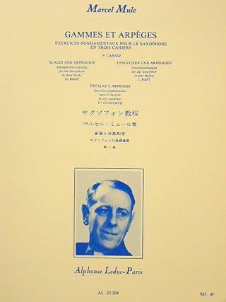 GAMMES ET ARPEGES 1 - arrangiert für Saxophon [Noten / Sheetmusic] Komponist: MULE MARCEL