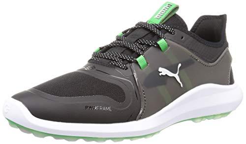 PUMA 194708, Zapatos de Golf Hombre, Negro Irish Verde, 40 EU