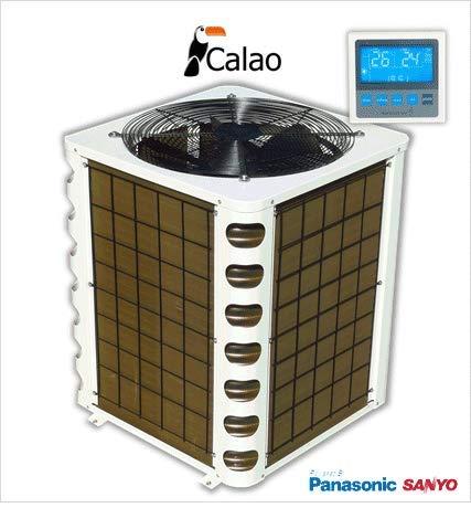 Pompe à chaleur piscine performante - 15kW COP 6.1 + télécommande - CALAO 15