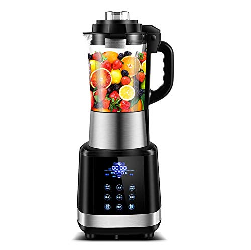 JXWWNZ Blender Smoothie Maker, 1000 W smoothie blender, slijper en ijsmachine, 48.000 omw/min, inhoud 1,2 liter.