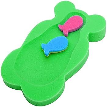 Support pour /éponge de bain b/éb/é confort souple Safe mousse NEUF pour enfant de bain Midi Vert