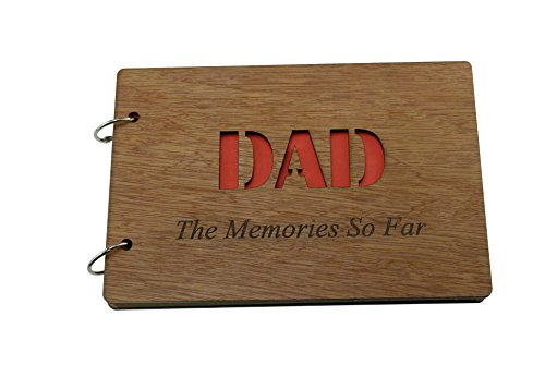 Papá The Memories So Far – Álbum de recortes, álbum de fotos o cuaderno, idea de regalo para padres, para el día del padre o cumpleaños