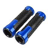 22mm 7/8''Puño de Manillar para Suzuki GSR600 GSR 600 GSR750 GSR 750 2011-2016 GSR400 GSR 400 2008-2012(Azul)