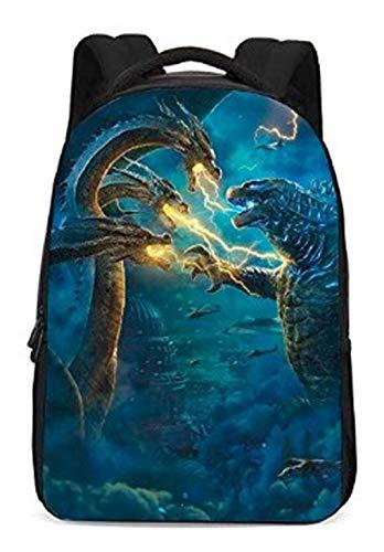 Godzilla Backpack Godzilla King of The Monsters School Bag for Students Men Women 2019 3