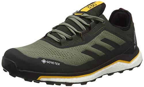 adidas Herren Terrex Agravic Flow GTX Laufschuhe, Verleg/Negbás/Dorsol, 43 1/3 EU