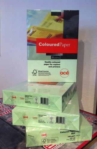 OCE 97002075A4(210× 297mm) grün Papier Tintenstrahldrucker–Papiere Tintenstrahldrucker (A4(210× 297mm), Universal, Grün)