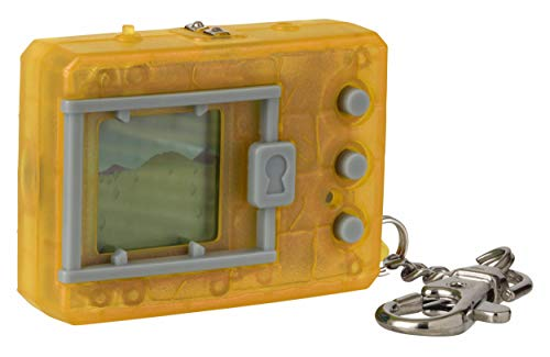 Bandai Original Digimon Digivice Virtual Pet Translucent Yellow