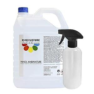 Desinfectante superficie hidroalcoholica 5 litros desinfectante liquido antiseptico antibacteriano jabon antiséptico a base de alcohol ideal para rellenar en spray
