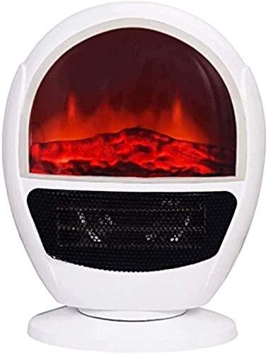 HYLH 1,5 kW Holzofen Heizung Kaminofen W Flammeneffekt Feuer - 1500 W - Freistehender Kamin Holzofen LED-Licht - Einstellbare Temperatur/Flammen Design Großes Fenster