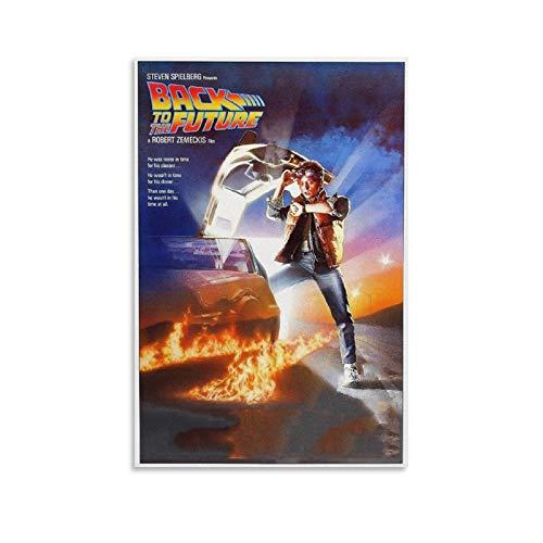 Ritorno al futuro 1 2 3 poster del film poster decorativo su tela di canapa di arte della parete del soggiorno poster camera da letto 30 x 45 cm