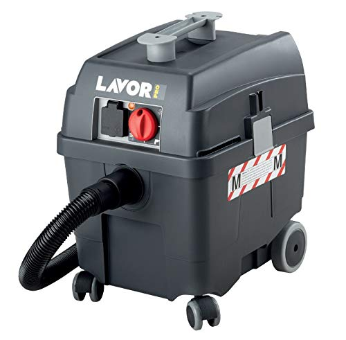Lavor 0.052.0019 0019-Aspirador - Profesionale di polvo y líquido Pro Worker EM 1200 1400 W 70 L s 24 2400 Vacío kPa mmH2O depósito 30 lt