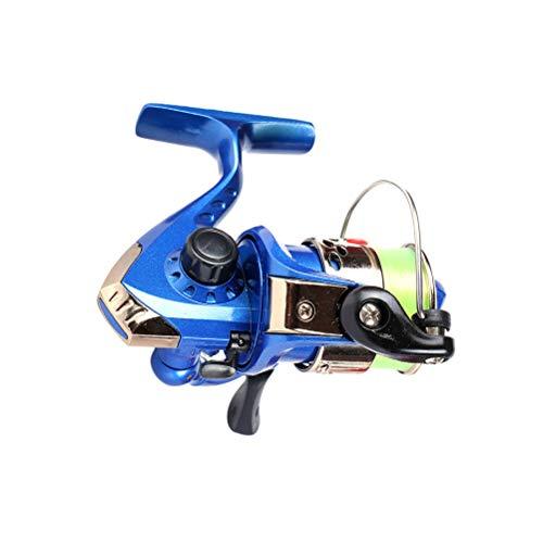 LIOOBO Mulinello da Pesca in Alluminio Spinning Mulinello da Pesca per attività di Pesca all'aperto (Blu)