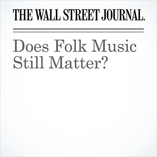 Does Folk Music Still Matter? copertina