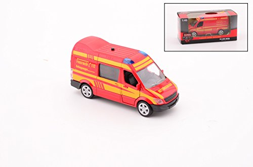 Super Cars rotes Kinder-Feuerwehrauto Feuerwehrbus mit Licht und Geräuschen