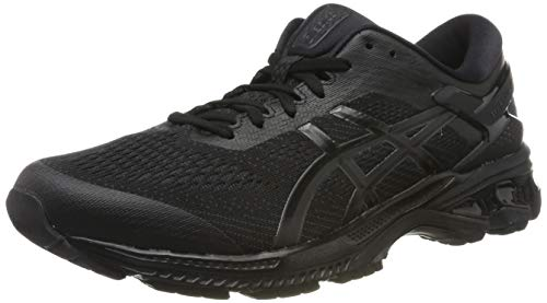 ASICS Gel-Kayano 26, Chaussures de Running Homme, Noir (Blac