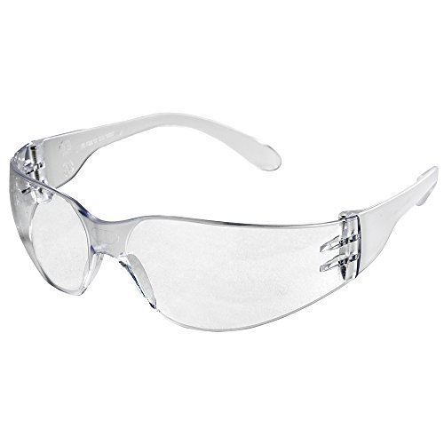 Sellstrom Lightweight, UV Absorbing Polycarbonate Lens Protective Eyewear Safety Glasses, Anti-Scratch Coating, Rubberized Straight Temple Tips, Indoor/Outdoor Mirror Lens (Pack of 12), S70731