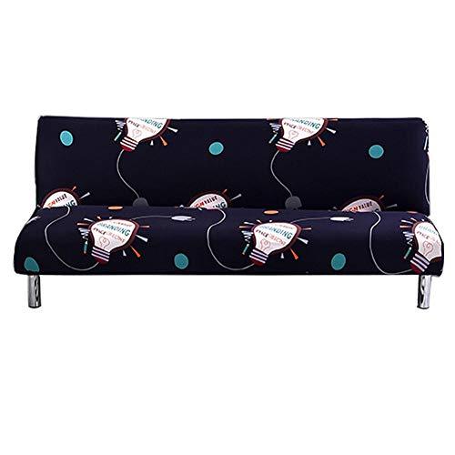 presentimer Funda elástica para sofá o sofá con patrón de fundas de sillón, funda universal para cojín de sofá, protector de muebles habitual