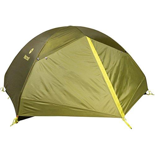Marmot Tungsten 3p Tent: 3-Person 3-Season Green Shadow/Moss, One Size