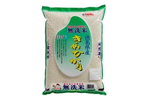 JA全農とくしま 【無洗米】徳島県産米キヌヒカリ 5kg (令和元年産)