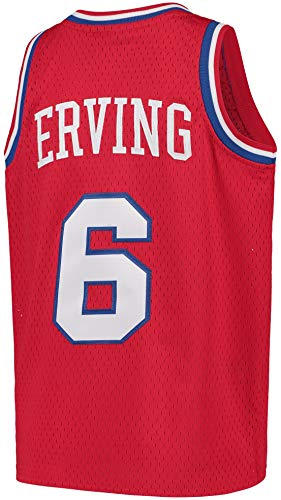 Outerstuff Youth Julius Erving Philadelphia 76ers Hardwood Classic Jersey (Youth Large (14-16))