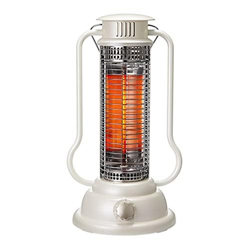SHENXINCI Heater 300W- Calentador de Jaula de Pájaros Mini Estufa Eléctrica Portátil Calefactor Cerámico con Termostato Ajustable, Termoventilador Bajo Consumo para Casa Oficina,Blanco