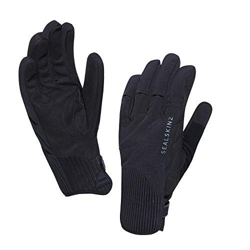 SealSkinz Waterproof Unisex Elgin Riding Gloves, Black, L