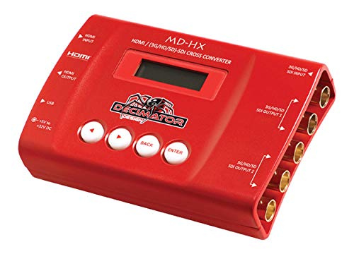 Decimator MD-HX HDMI and SDI Cross Converter with Scaling & Frame Rate Conversion