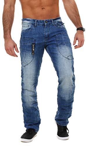 M.O.D - Jeans - Uomo Manaus Blue 33W x 30L