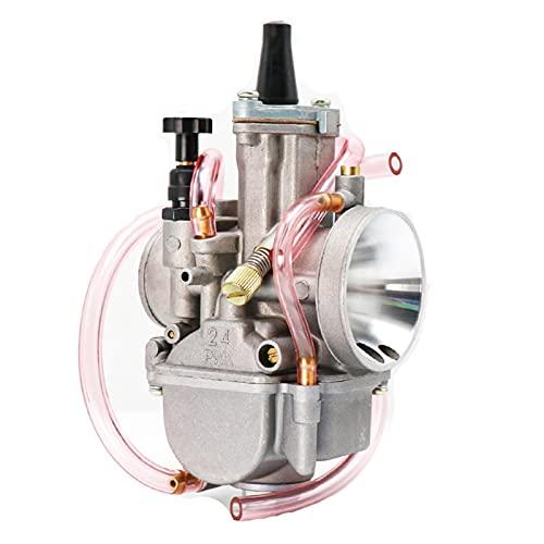 HLSP Universal 21 24 26 28 30 32 34mm 2T 4T, Carburador de Motocicletas con Power Jet, para Yamaha para MIKUNI KOSO para Canal DE TELEVISIÓN BRITÁNICO (Color : 34mm)