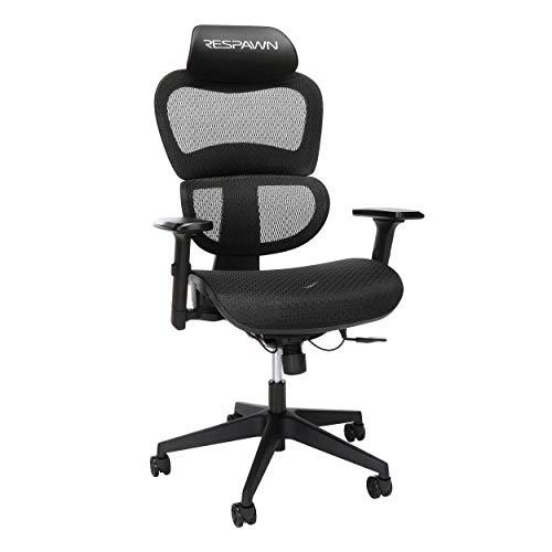 RESPAWN Specter Full Mesh Ergonomic Gaming Chair, in Onyx Black (RSP-215-BLK)