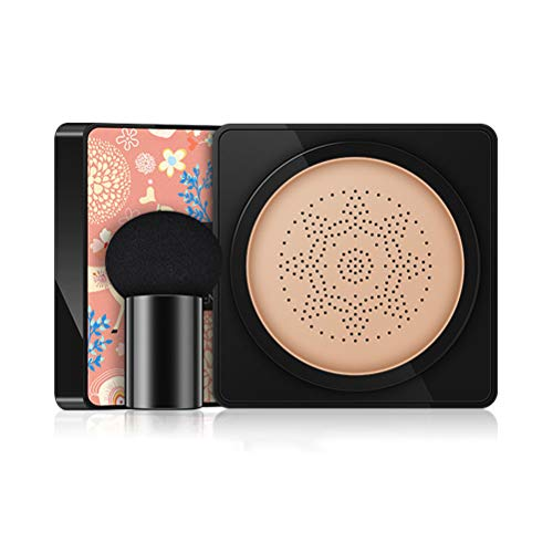 Settoo BB Air Cushion Foundation, 20g Champignon Head BB CC Crème Correcteur Blanchiment Maquillage Cosmétique Brighten Visage Crème