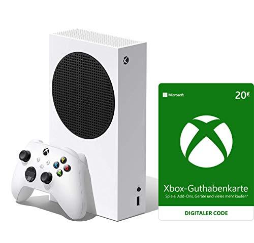 Xbox Series S 512GB + Xbox Live 20 EUR Guthaben [Xbox Live Online Code]