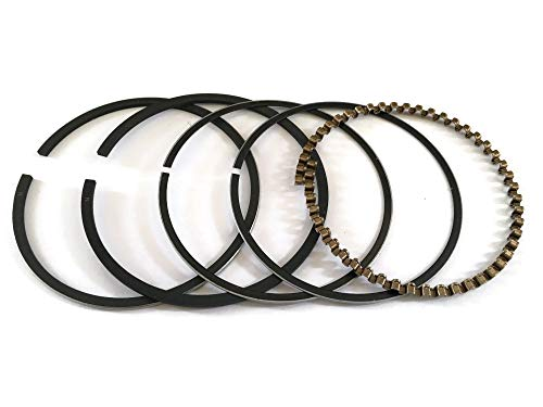 YAMASCO Piston Ring Rings Set 252-23503-07 17 For Robin Subaru EH12 EH12-2 Mikasa MT-75 4HP 60.5MM O/S #555 Rammer Lawn Trimmer Motor Engine
