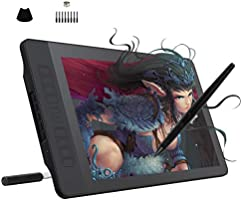 GAOMON PD1560 15.6 Inches 8192 Levels Pen Display with Arm Stand 1920 x 1080 HD IPS Screen Drawing Tablet with 10...