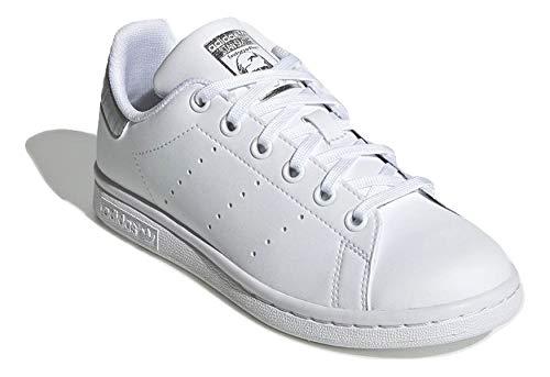 adidas Mujer Stan Smith J Zapatillas Blanco, 36