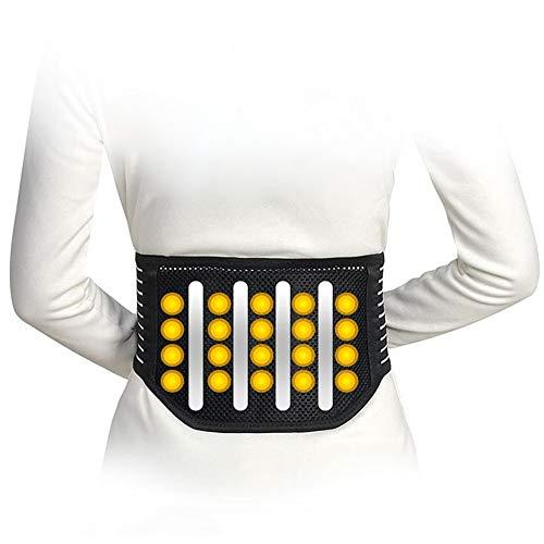 ZFF Soporte Lumbar Cinturón con 20 Imanes Inferior Atrás Apoyo Cinturón para Deporte O...