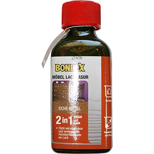 0,15 Liter Bondex Möbel Lacklasur eiche mittel Holzlack Lack Holzlasur Lasur
