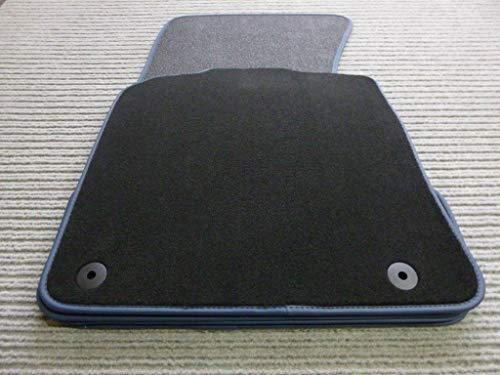 Velours rot Fußmatten passend für FORD STREETKA 2003-2005 2tlg