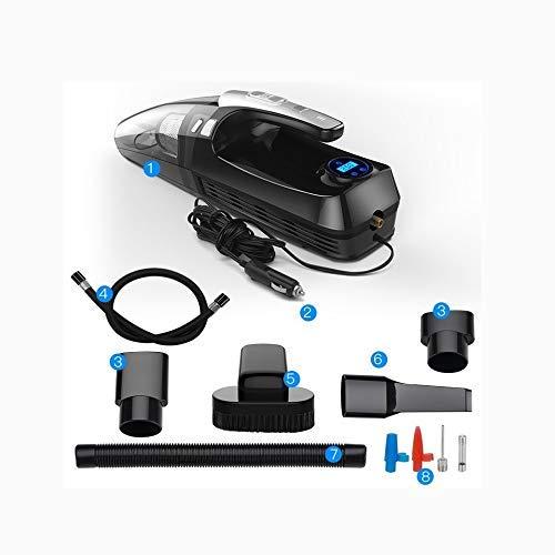 Limpiadores de automóviles Bomba de Aire para automóviles con una Potente Carga inalámbrica dedicada Car Home Quad de Alta Potencia de Doble Uso