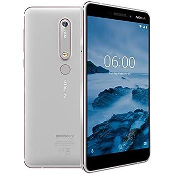 Nokia 6.1 - Smartphone 32GB, 3GB RAM, Dual Sim, White/Iron: Amazon.es: Electrónica