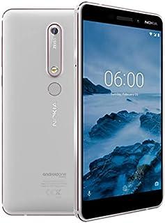 Nokia 6.1 - Smartphone 32GB, 3GB RAM, Dual Sim, White/Iron