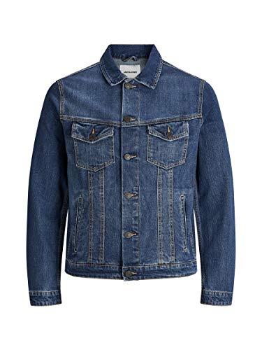 Jack & Jones NOS Herren Jjialvin Jjjacket Sa 001 Noos Jeansjacke Blau (Blue Denim), Medium (Herstellergröße: M)